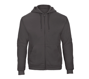 Hooded full zip Sweatshirt anthracite