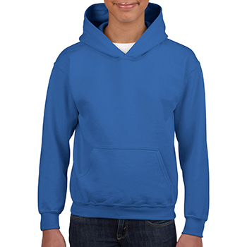 Heavy blend Kid's Hooded Sweatshirt blauw