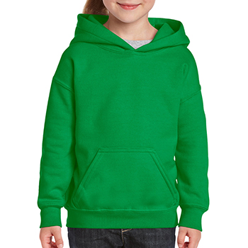 Heavy blend Kid's Hooded Sweatshirt groen