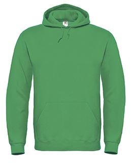 Hooded Sweat Kelly green