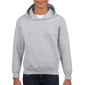 Heavy blend Kid's Hooded Sweatshirt lichtgrijs