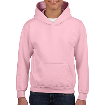Heavy blend Kid's Hooded Sweatshirt lichtroze