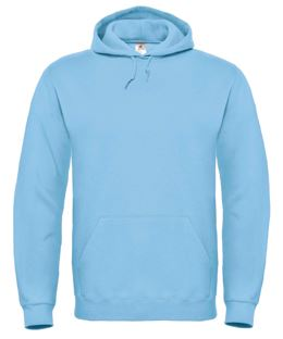 Hooded Sweat Light blue