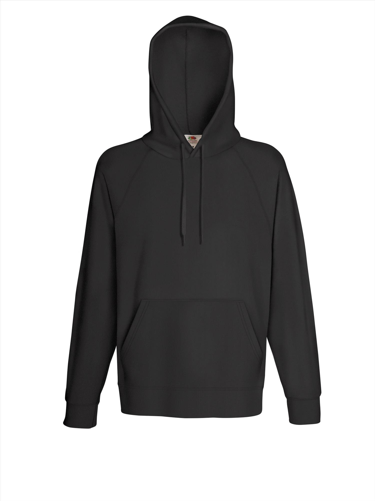 Budget heren hoodie light graphite
