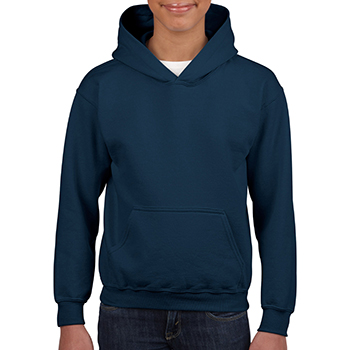 Heavy blend Kid's Hooded Sweatshirt navy