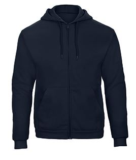 Hooded full zip Sweatshirt navy