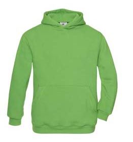 Hooded Kids Real green