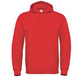 Hooded Sweat Red