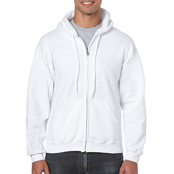 Heavy blend Full Zip Hooded Sweatshirt wit