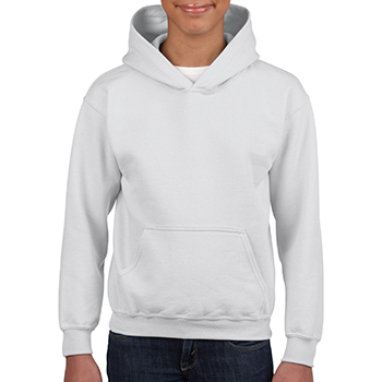Heavy blend Kid's Hooded Sweatshirt wit